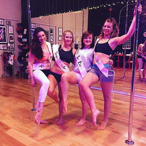 pole dancing hen parties dublin