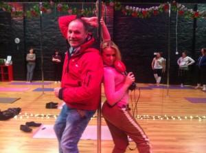 Henry McKean Newstalk FM pole dancing