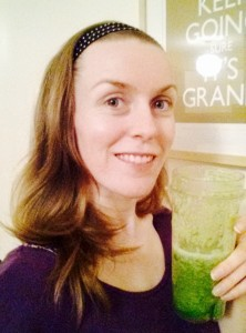green smoothie for pole dancers