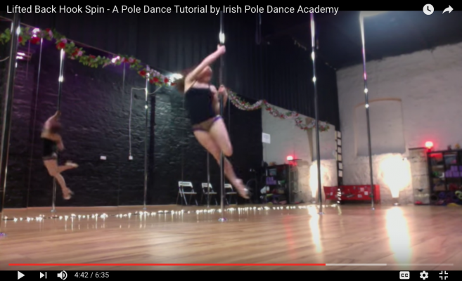 pole dance tutorial online
