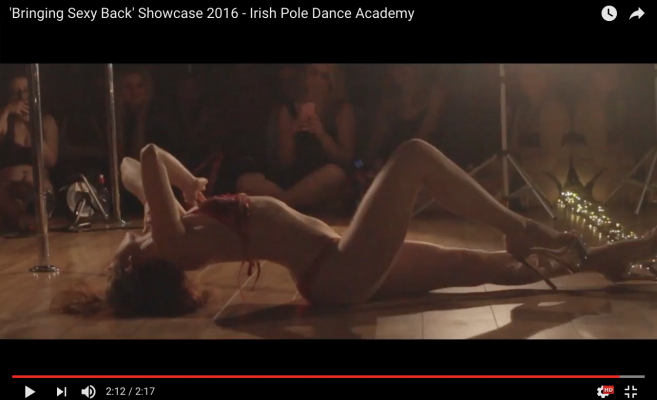bringing sexy back irish pole dance academy