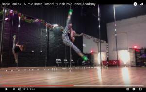 pole dancing dublin tutorial
