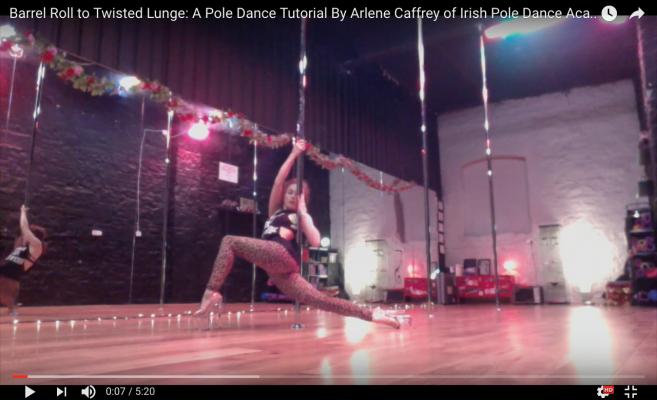 exotic pole dance class dublin