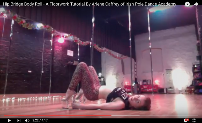 beginner pole dancing tutorial dublin