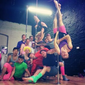 stag party pole dancing dublin