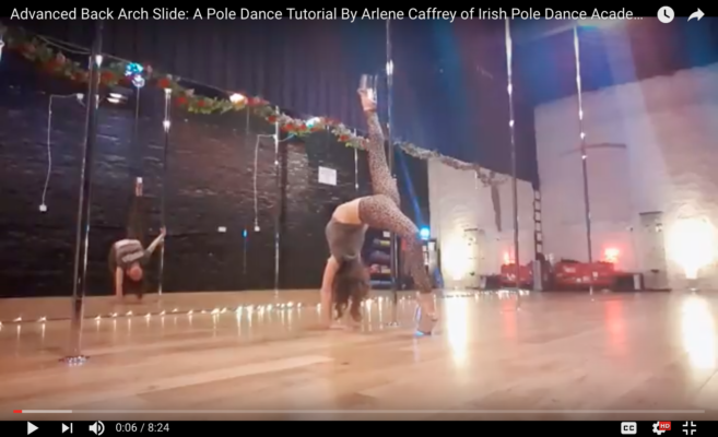 pole dancing classes dublin arlene caffrey