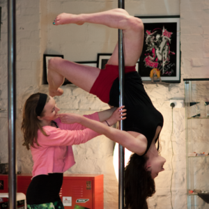 pole dancing private lesson dublin