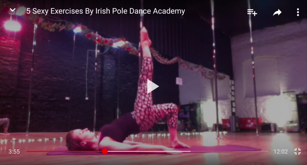 pole dancing dublin