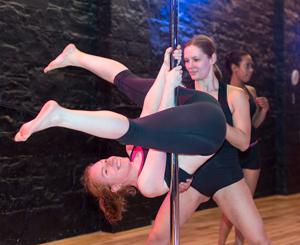 pole dancing class dublin
