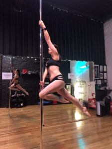 learn pole dancing in dublin