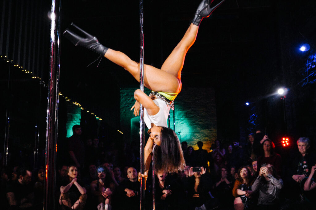 november spawned a monster pole dance showcase dublin 1
