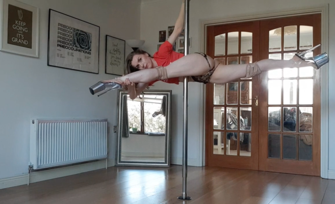 buying a fitness pole for home in ireland