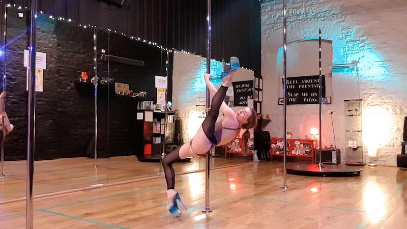Advanced Choreography Pole Dance Tutorial June 2021