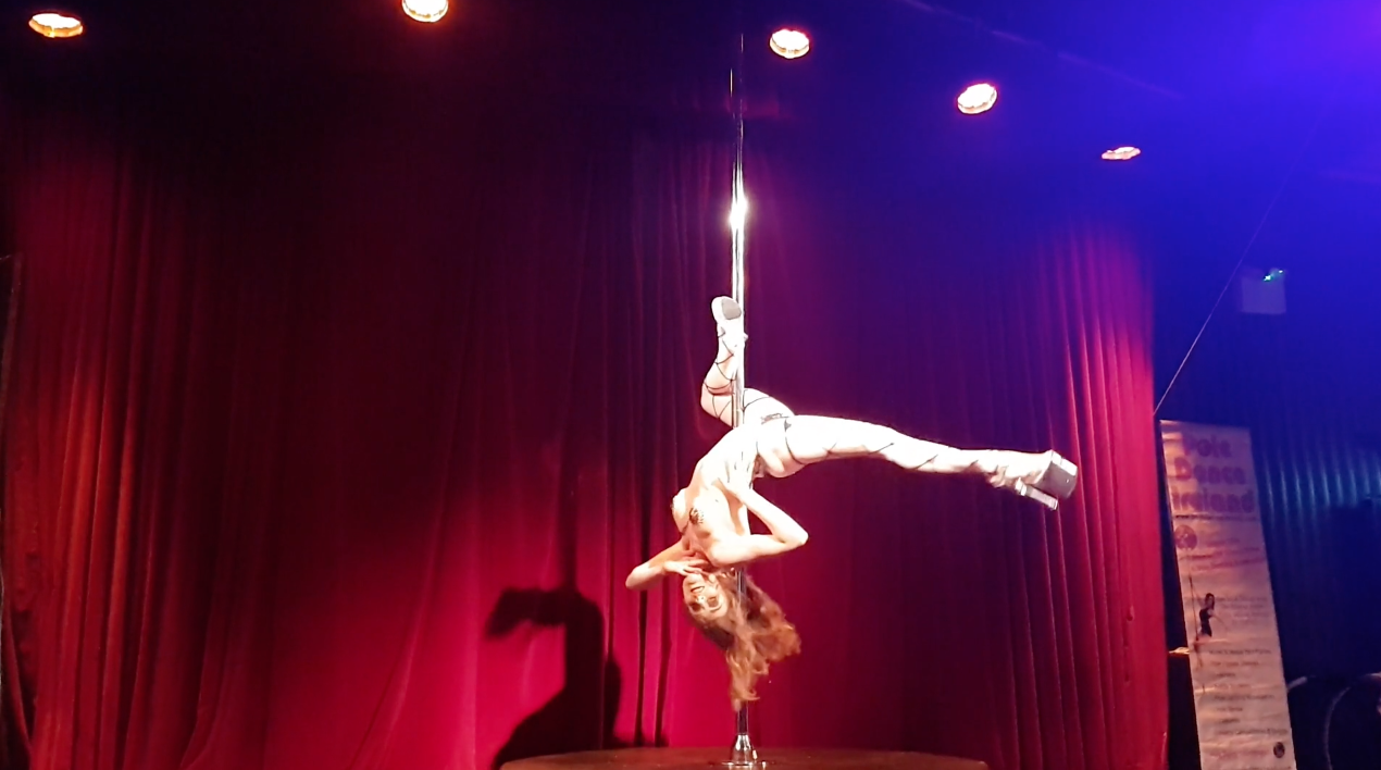 pole dance ireland princess competition