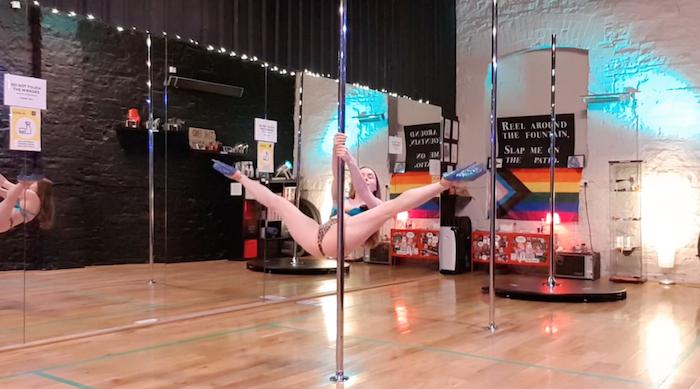 violator pole dance trick tutorial