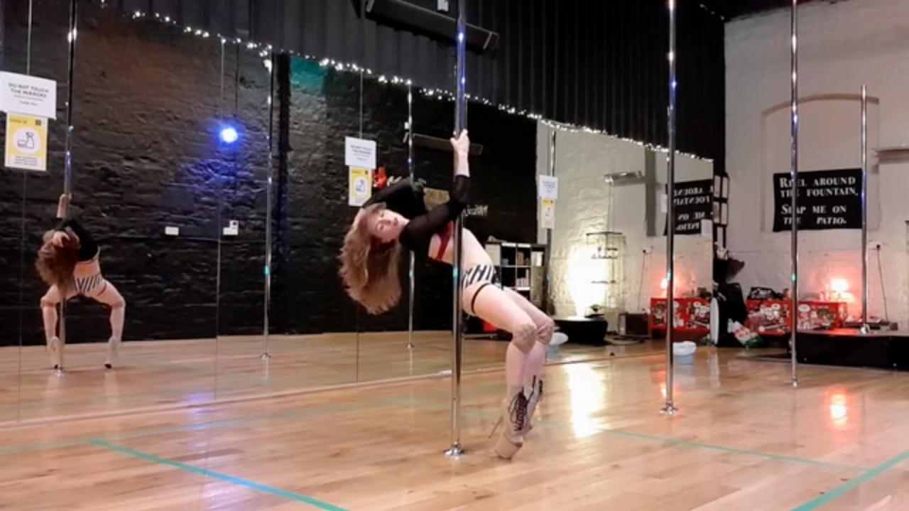 beginner pole choreogrphy august 2020