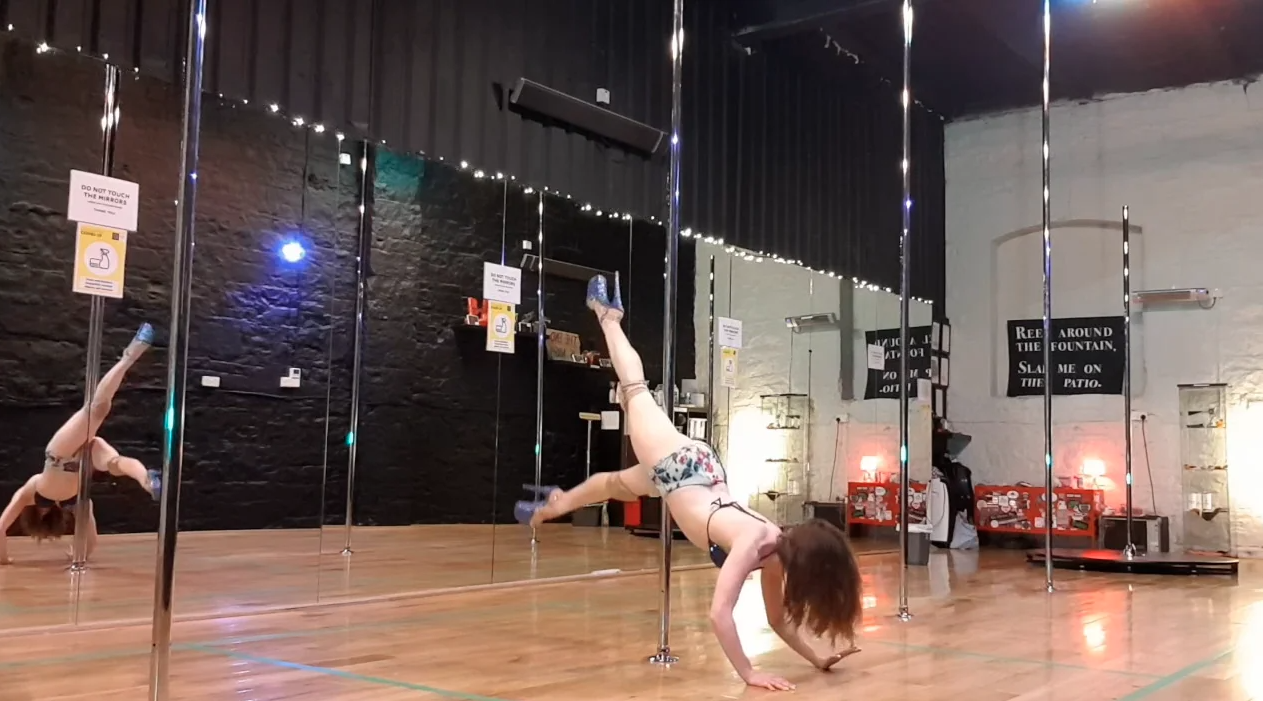 advanced pole dance choreography sept 2020
