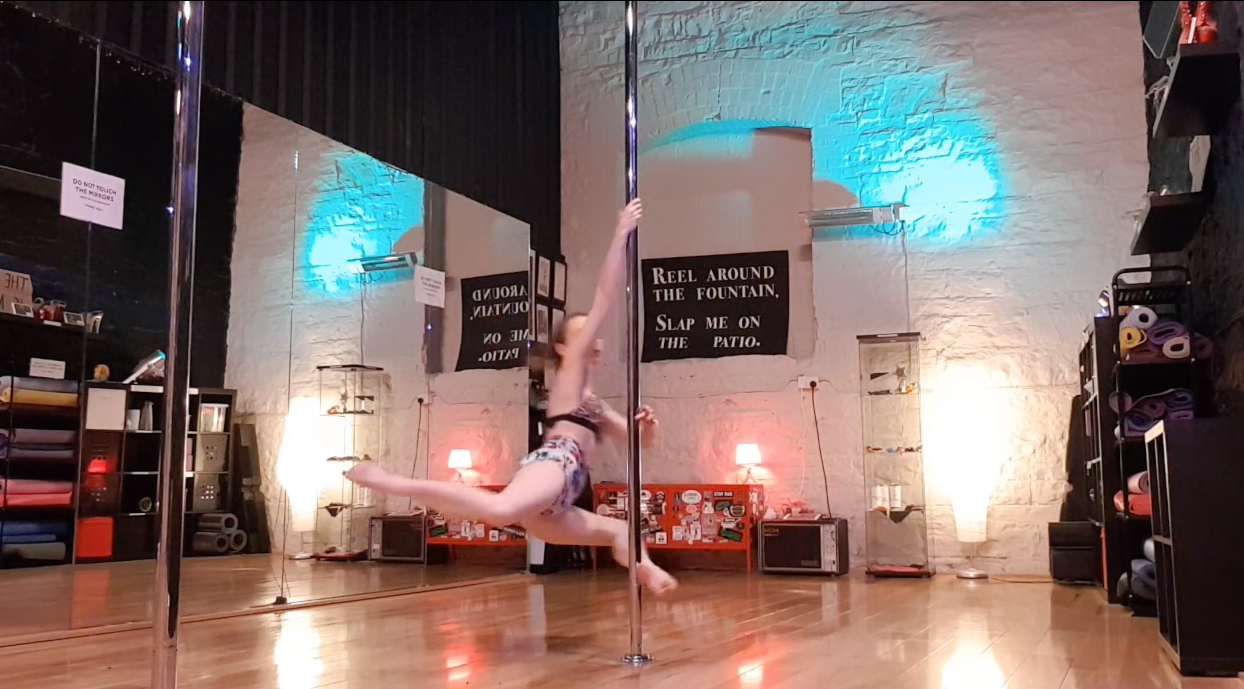 attitude spin pole dance tutorial
