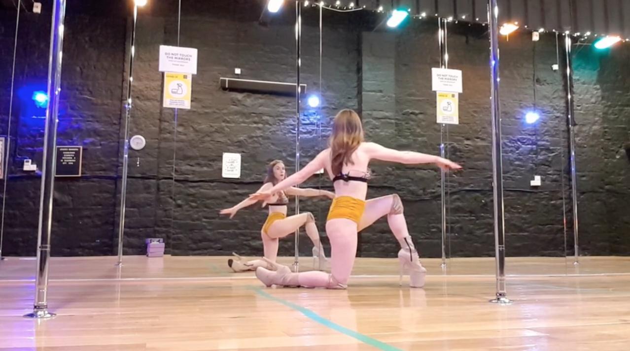 floorwork online lesson knee spin