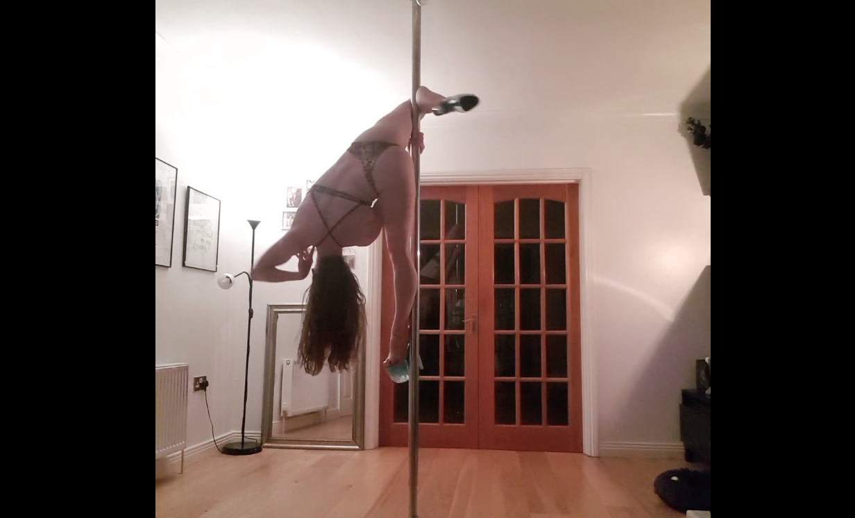 bad feeling by muzz pole dance by arlene caffrey