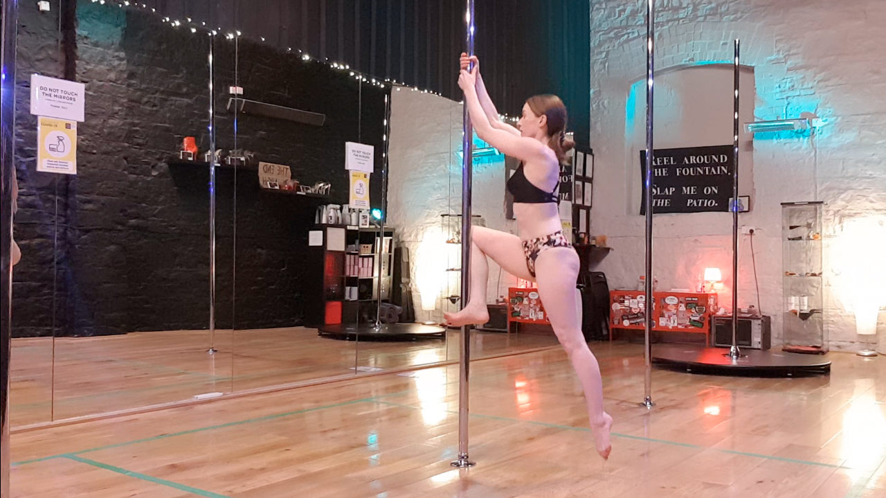 how to climb a pole - pole dance conditioning part 2