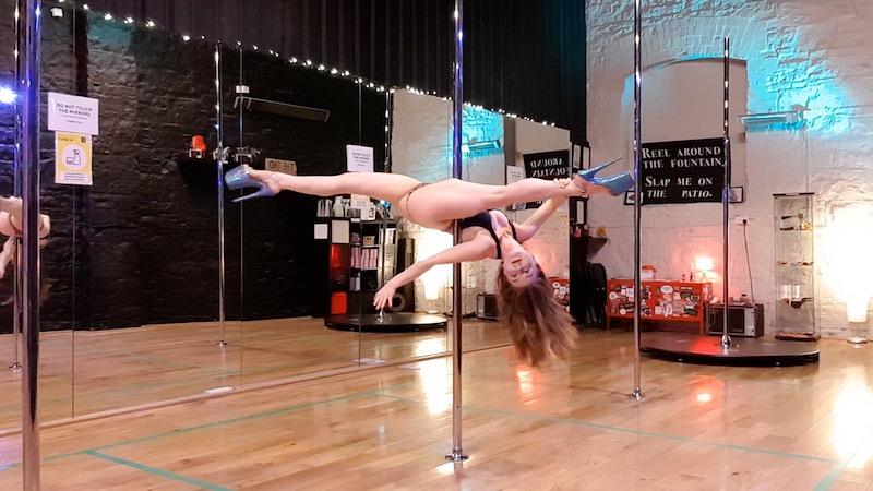 Spinny Pole Jade Split tutorial