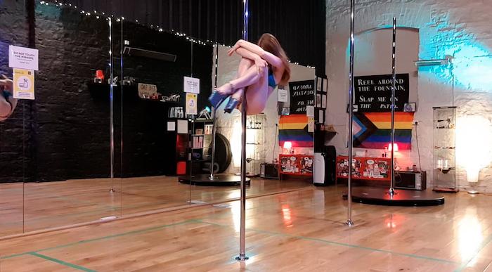 pole dance tutorial koala pose