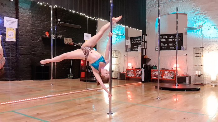 extended butterfly pole dance tutorial tips
