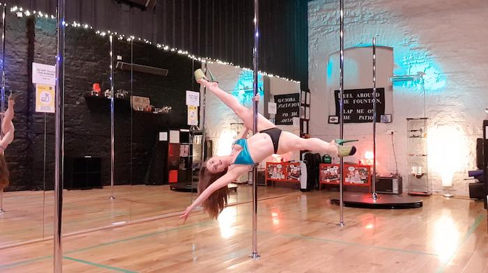 allegra pole dance tutorial