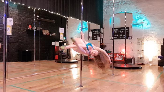 meat hang pole dance tutorial